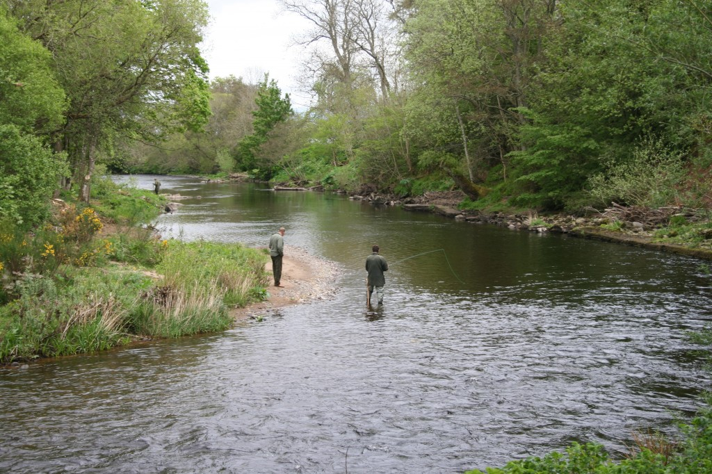 Fishing the Red Brae