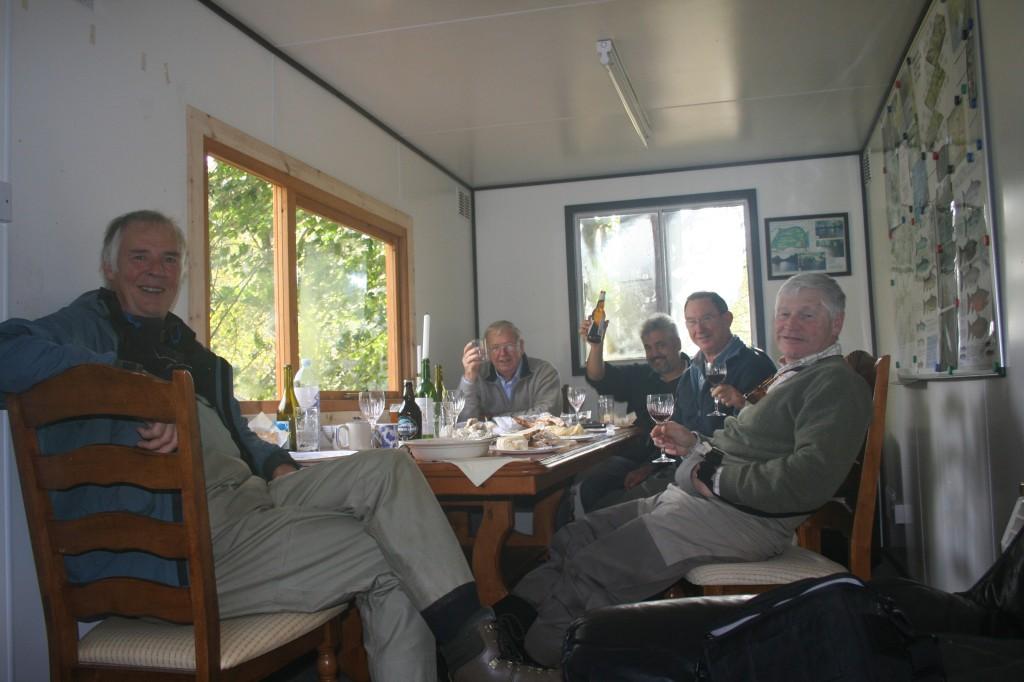 Lunch in Indies Hut