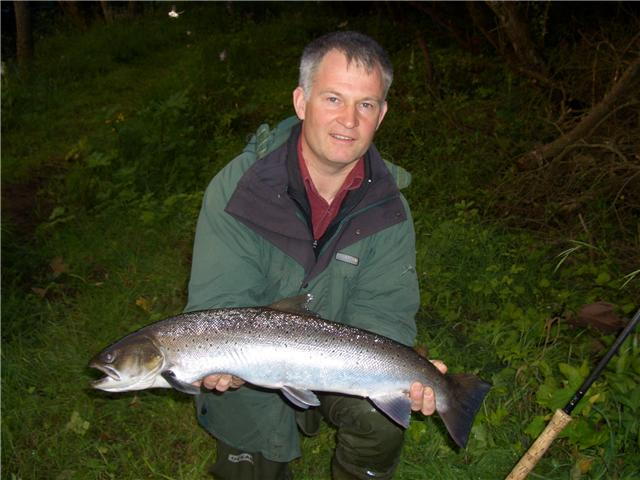 Another big Finavon sea trout