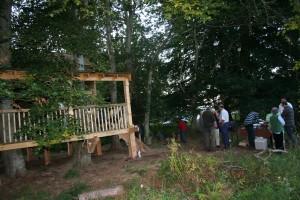 David's Treehouse opening