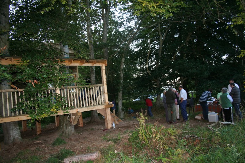 David's Treehouse opening