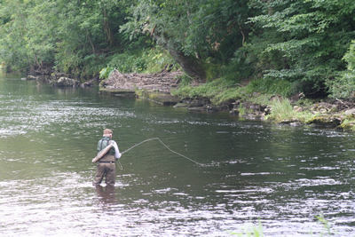 Colin Carnie fishing Red Brae