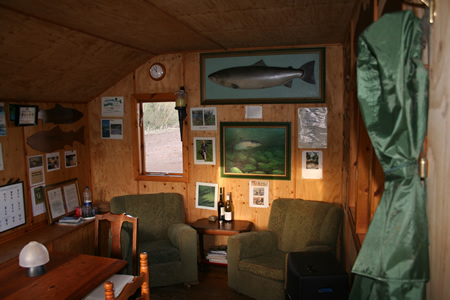 Inside of RB hut