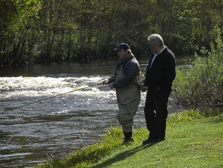 Fishing Frank's Stream