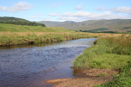 South Esk above new confluence