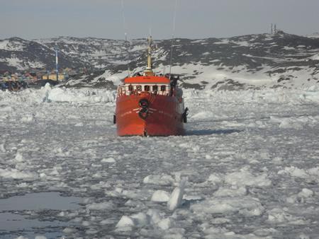 Ilulissat ice field West Greenland