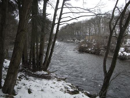 View upstream from Red BraeHut