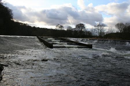 The Dam at Upper Kinnaird